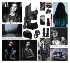 """""""✖ Hey brothers, hey fighters. Bottles living for another round. Hey lovers, hey liars. Throttle speeding towards a blackout. ✖ Read D ✖"""" by blueknight ❤ liked on Polyvore featuring Jane Norman, Burberry, NARS Cosmetics, OPI, Aspinal of London, Harley-Davidson and Revolver"""