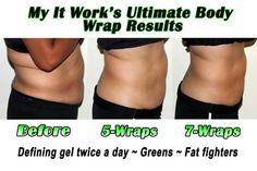 This is Jody, she is looking amazing! This is what can happen when you combine wraps with our other amazing products! www.itworkswithashley.com