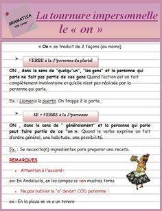 """La tournure impersonnelle : le """"on"""" (ficha) - ¡Olé Lardy!"""