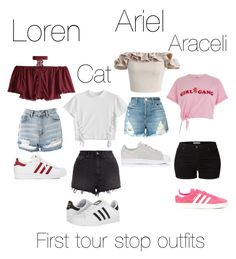 """""""First tour stop in book"""" by jaysiry20 on Polyvore featuring Chicwish, River Island, J Brand, adidas Originals, Ksubi, LE3NO, Topshop and adidas"""