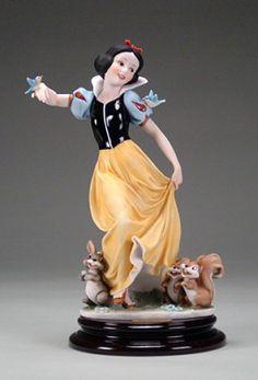 Giuseppe Armani Snow White And The  Little Animals 1830C. #GiuseppeArmani #Figurine.