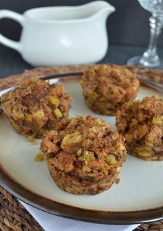 Stuffing muffins for thanksgiving