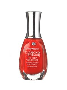 Hot coral is perfect for spring...this one's Sally Hansen Diamond Strength No Chip Manicure in Heart to Heart