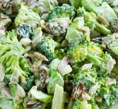 A super healthy remake of your favorite broccoli salad. Vegan and raw. No sugar or mayo, just great taste!
