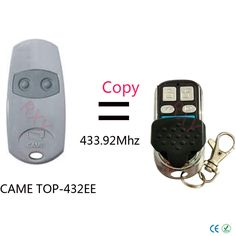 Top quality CAME TOP-432EE remote control copy clone 433.92mhz. Yesterday's price: US $10.50 (8.55 EUR). Today's price: US $7.25 (5.88 EUR). Discount: 31%.
