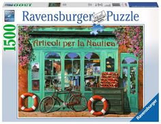 Ravensburger Puzzle 1500pc - The Red Bicycle