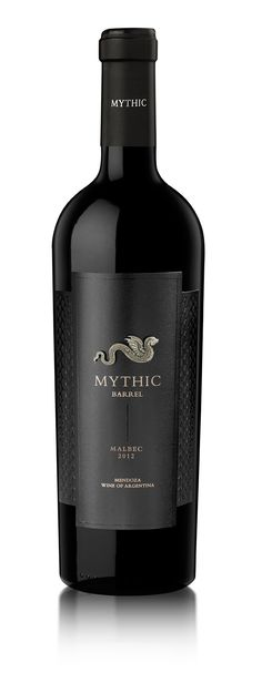 Diseño Etiqueta de Vino / Wine label Design BODEGA CASARENA - MYTHIC