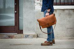 The Vintage Messenger Bag