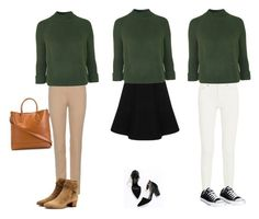 """""""Untitled #15"""" by fancywan on Polyvore featuring Loro Piana, Topshop, Cherryville, Acne Studios, Ralph Lauren, Yves Saint Laurent and Converse"""