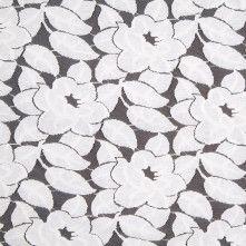 Off-White Cotton Lace