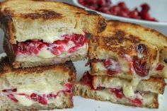 Roasted Cranberry & Brie Grilled Cheese | 31 Grilled Cheeses That Are Better Than A Boyfriend
