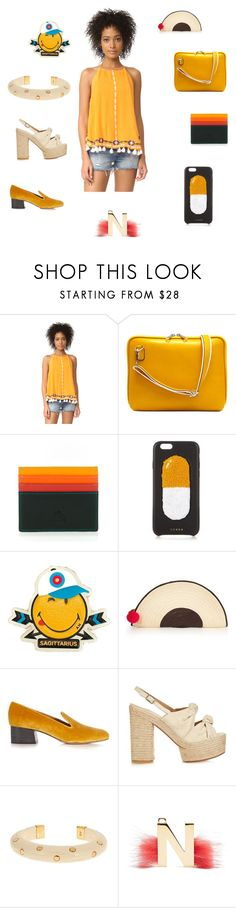 """""""Fashion trend"""" by emmamegan-5678 ❤ liked on Polyvore featuring Piper, mywalit, Chaos, Anya Hindmarch, Sophie Anderson, Chloé, Castañer, Aurélie Bidermann, Fendi and vintage"""