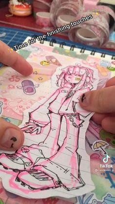 Cute Art Styles, Cartoon Art Styles, Art Drawings Sketches Simple, Cool Drawings, Art Diary, Arte Sketchbook, Art Inspiration Drawing, Drawing Challenge, Art Tutorials