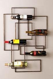 Wildon Home ® Declan 5 Bottle Wall Mount Wine Rack Hanging Wine Rack, Wine Glass Rack, Wood Wine Racks, Wine Rack Wall, Wine Wall, Built In Wine Rack, Wine Rack Storage, Storage Crates, Crate Shelves