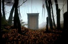 door in forest - Google Search