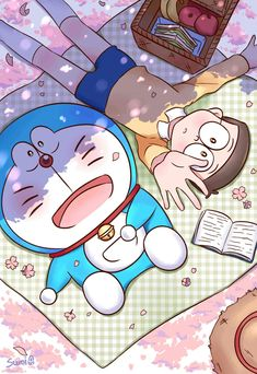 Doraemon Wallpapers, Cute Cartoon Wallpapers, Cute Wallpaper Backgrounds, Disney Wallpaper, Doremon Cartoon, Drawing Cartoon Characters, Cartoon Drawings, Anime Muslim, Happy Mother's Day Card