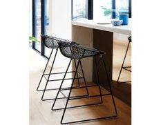 wire-stool-kitchen-Pop-Stool-Black
