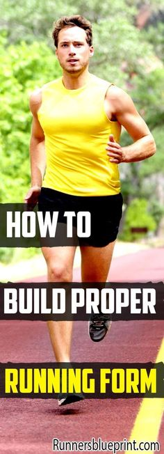 upgrading your running form is easier than you might think. Therefore, today, dear reader, I'm going to share with you some of the best proper form guidelines you need so you can start running like the elite. #running #form #technique http://www.runnersblueprint.com/how-to-build-proper-running-form/