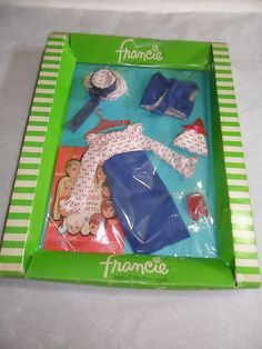 VINTAGE FRANCIE OUTFIT #1256 CONCERT IN THE PARK NRFB - MINT OUTFIT