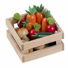 Winter Vegetables - Wooden Play Food