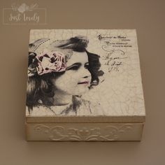 Decoupage box,jewelry box,wooden box,gifts,vintage box,girl,accessories… Decoupage Box, Jewelry Box, Unique Jewelry, Vintage Box, Girls Accessories, Wooden Boxes, Handmade Gifts, Frame, Stuff To Buy