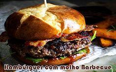 As 8 melhores receitas de hambúrgueres caseiros gourmet. Aprenda como fazer, dicas, o melhor ponto da carne, a melhor carne, peso ideal e tudo.