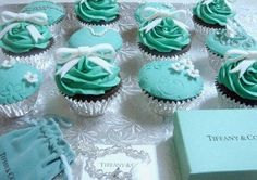 Tiffany's Cupcakes. Darling!