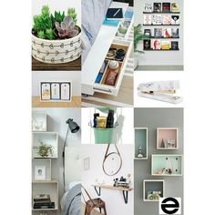 #SpaceSaving is finding a way to put everything you love on display in a well #organized fashion.  #BedroomSpaceSavers #themeoftheweek #MoodBoardMonday