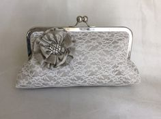 THE ANNA CLUTCH  Bridesmaid Bridal clutch by franklymydearvintage