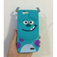 Carcasa muñeco 3D Huawei Ascend G7 diseño Sully monstruo azul