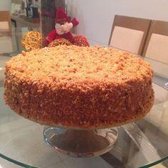 Coisas de Lu... (versão potiguar): Torta Crocante de Doce de Leite