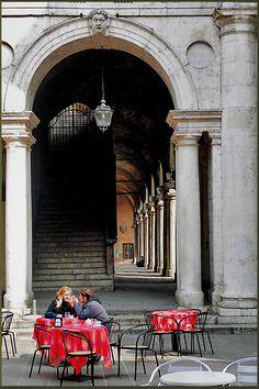 Piazza dei Signori, Vicenza, Veneto, Italy