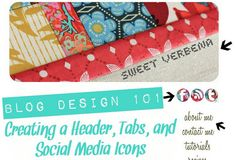 creating headers, buttons, etc...