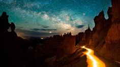 Stars over Bryce Canyon » Destination Darkness: The Increasingly Rare Starscapes of the Colorado Plateau National Parks