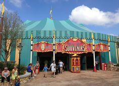 Big Top Souvenirs and Big Top Treats in the Magic Kingdom