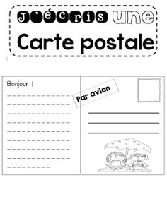 Atelier d'écriture Le cahier de Pénélope Teaching Writing, Writing Activities, Writing A Book, Teaching Resources, Teaching Ideas, Teaching French Immersion, French Worksheets, Kindergarten Language Arts, French Education