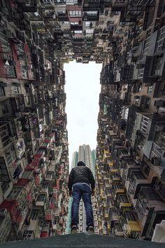 Fan Ho - Hong Kong Street Photography at the Blue Lotus Gallery Cityscape Photography, City Photography, Creative Photography, Landscape Photography, Favelas Brazil, Cyberpunk City, City Wallpaper, Urban Landscape, Scenery