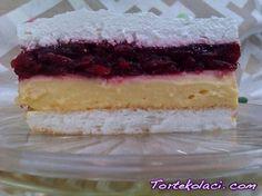 kapri torta sa visnjama ili jagodama