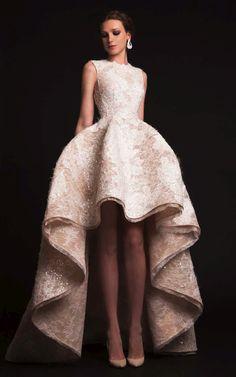"Krikor Jabotian ""The Last İlkbahar"", İ/Y 2015 – Haute couture - Mode Stil Mullet Wedding Dresses, Mullet Dress, Popular Wedding Dresses, Prom Dresses, 2015 Dresses, Formal Dresses For Weddings, Bridesmaid Gowns, Pageant Gowns, Long Dresses"