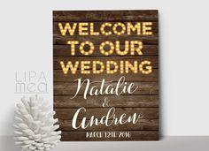 Printable Instagram Sign Hashtag Wedding By Lipamea