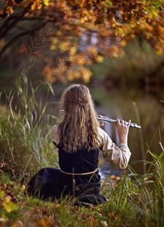Flute by NovembRedFox