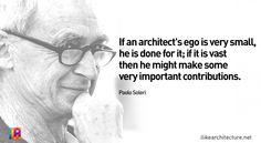 Quote #107 – Paolo Soleri