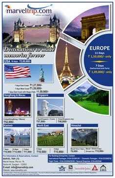 CELEBRATE YOUR JOURNEY with MARVELTRIP.COM Book Now : http://www.marveltrip.com/holidays/holidays.aspx or Call on: 0124-4223344