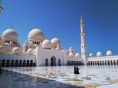 Sheikh Zayed Mosque, Abu Dhabi, should be considered as one of the world's most beautiful mosques