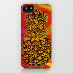 Pineapple Love iPhone Case by Alohalani - $35.00