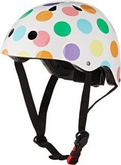 Kiddimoto Pastel Dotty Helmet at Barneys New York Safety Helmet, Child Safety, Luxury Gifts, Baby Design, Barneys New York, Bicycle Helmet, Cute Kids, Art For Kids