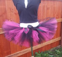 Check out this item in my Etsy shop https://www.etsy.com/listing/271339207/f-u-s-c-h-i-a-and-b-l-a-c-k-tutu-skirt