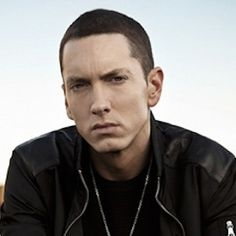 Eminem - I like him better with brown hair than the bleached blonde...