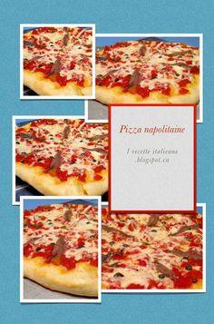 1 recette italienne: Pizza napolitaine (tomate, mozzarella, anchois, câpres, origan)