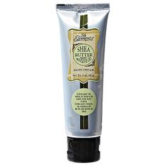 Silk Elements Shea Butter with Olive Oil Hand Cream deeply penetrates and absorbs quickly.Love the light scent and this is rich yet not greasy.$2.99 at SALLY's .